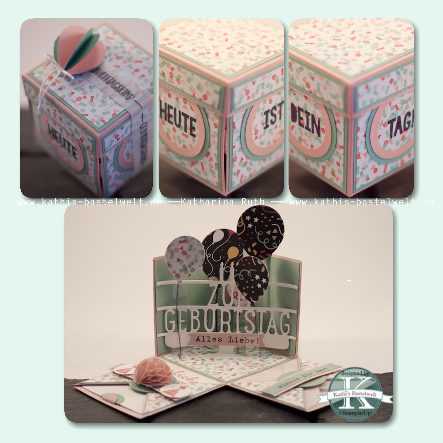 Explosionsbox #StampinUp!
