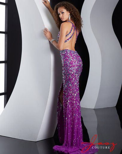 Open Side Prom Dresses 2015