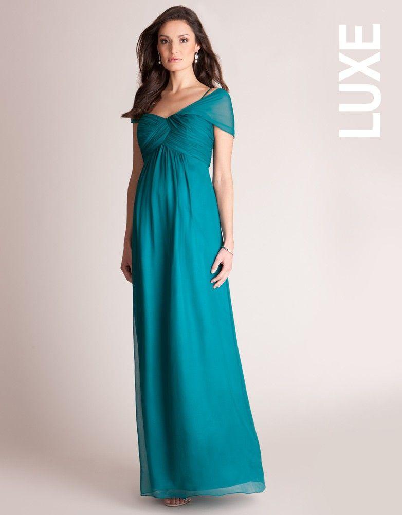 f6a9d3e96 Robe longue grossesse - Emeraude | Un mariage de rêve | Robe de ...
