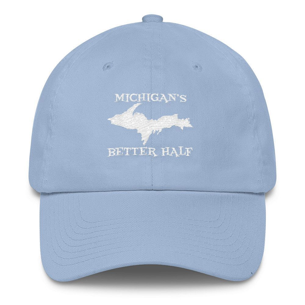 Michigan Better Half - Upper Peninsula Yooper Cotton Embroidered Cap