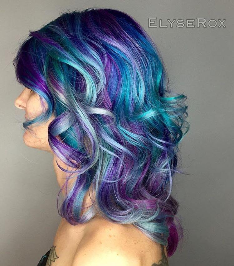 Pin On Rainbow Hair Some Ideas