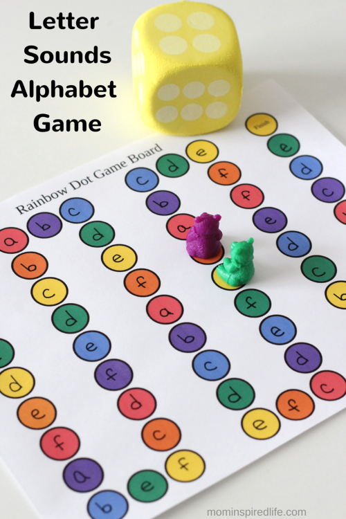 image relating to Letter Sound Games Printable named Printable Letter Seems Alphabet Board Match ALPHABET