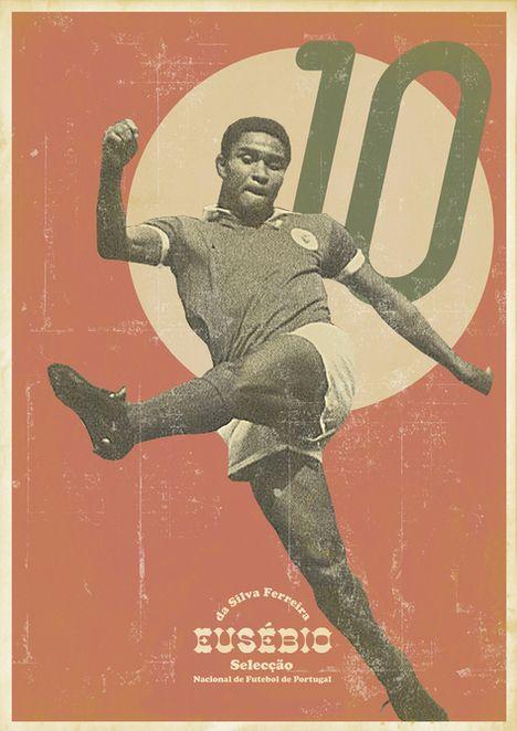 Cartazes Vintage De Futebol 19