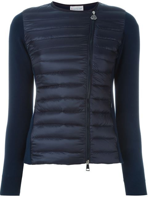 MONCLER Panelled Puffer Jacket. #moncler #cloth #jacket