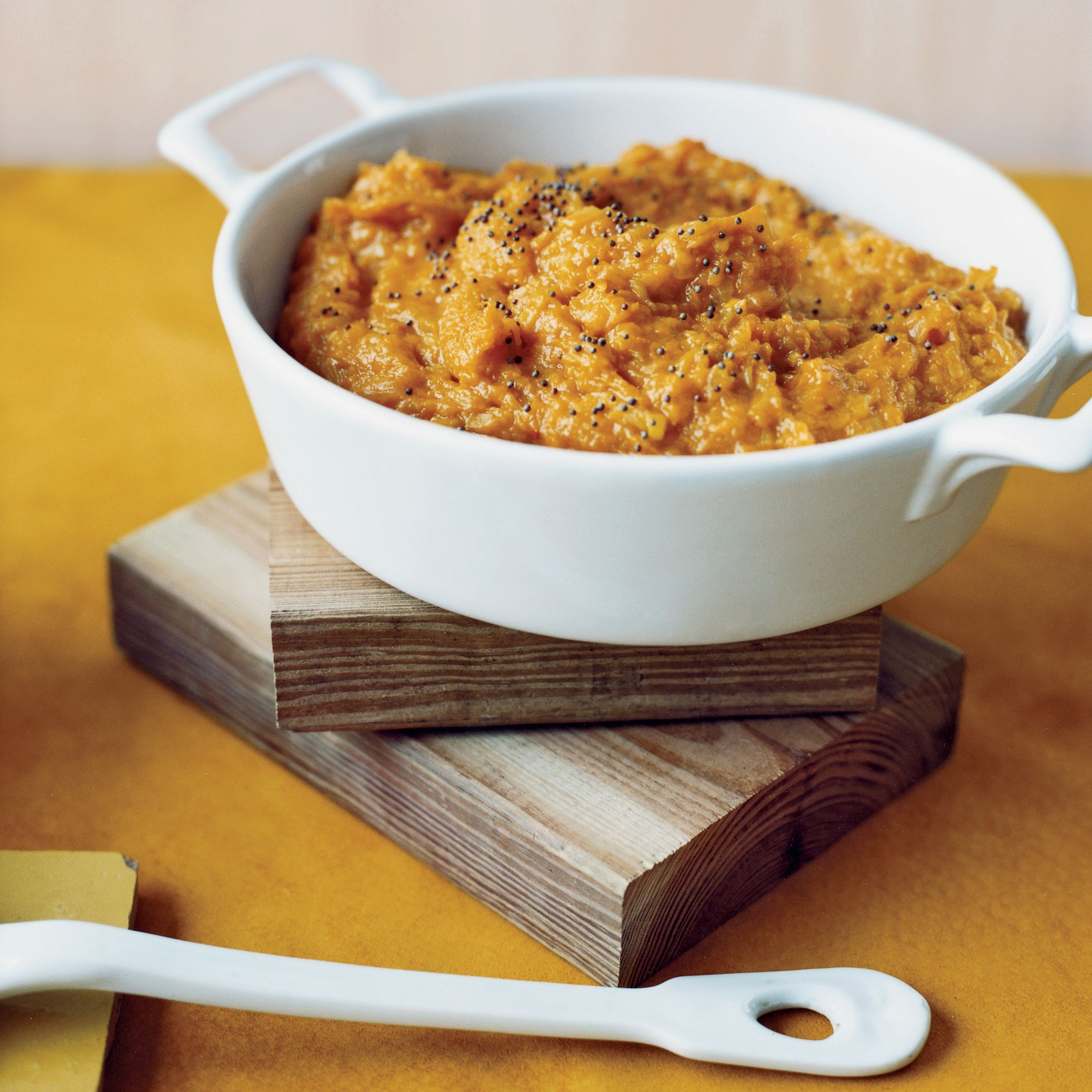 Mashed winter squash with indian spices recipe black mustard mashed winter squash with indian spices forumfinder Images