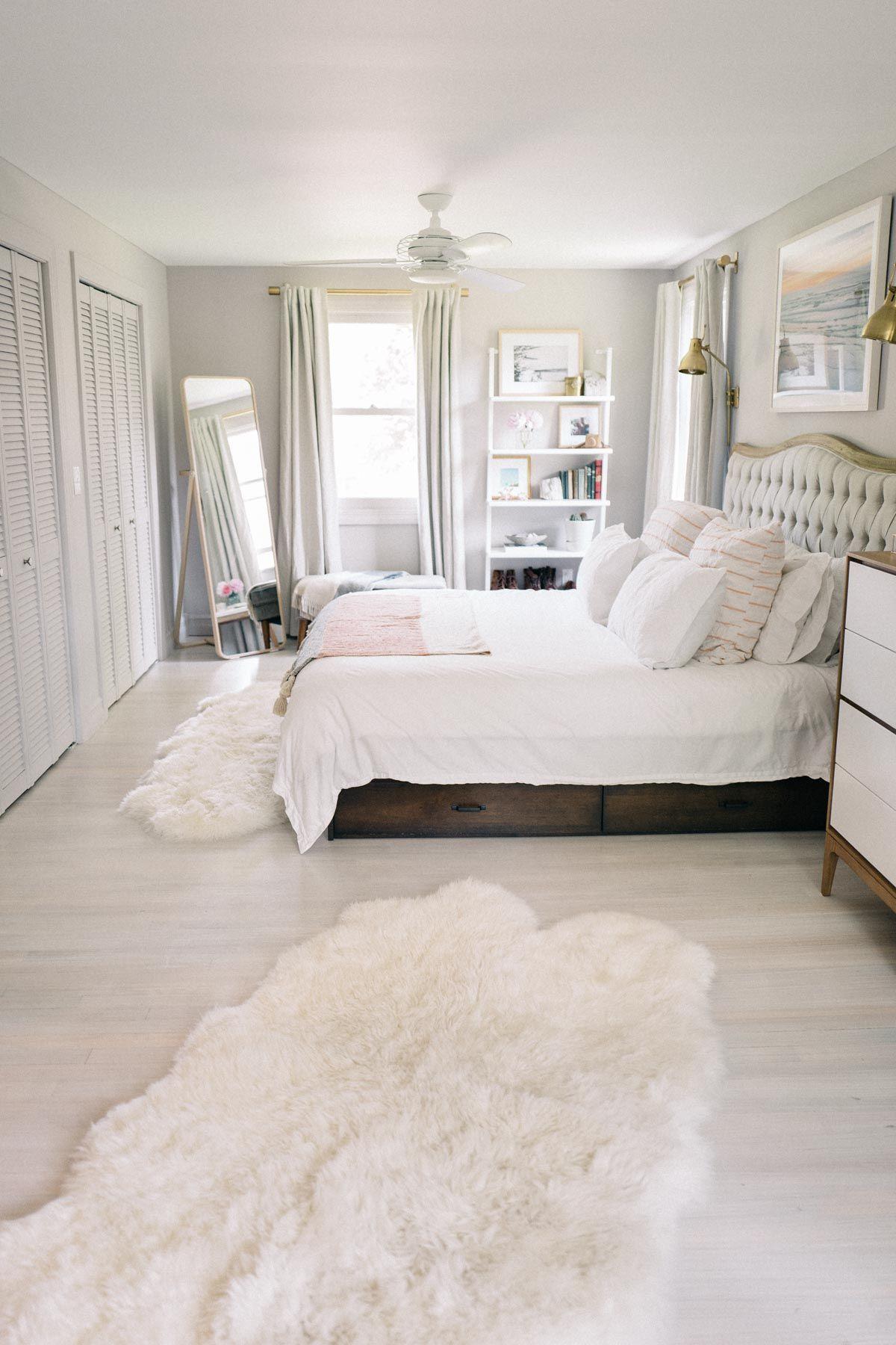 Master Bedroom Reveal White Master Bedroom Master Bedroom Interior Bedroom Redesign
