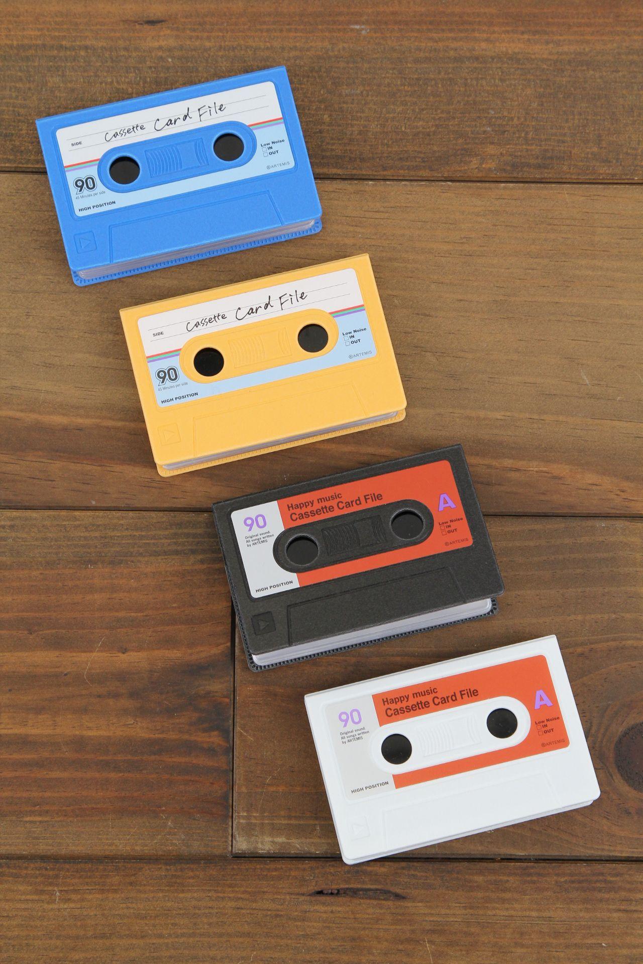 カセットカードファイル