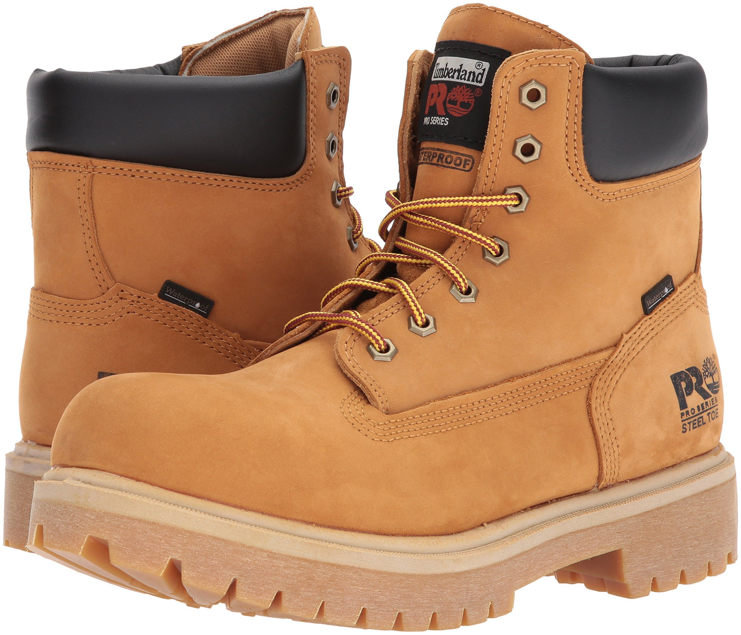 Timberland PRO 65016 Mens Direct Attach 6 Steel Toe Boot