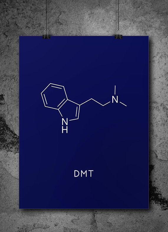Photo of Sofortiger Download DMT Molekül druckbare Chemie Wand Kunst Pharmazie Wissenschaft Geschenk …