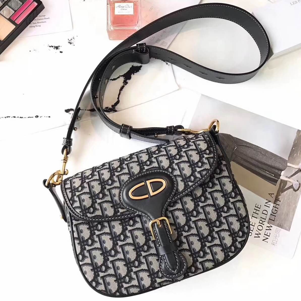 12d2ef2d4b Dior Oblique Saddle Flap Bag 100% Authentic 80% Off | Dior Bag Sale ...