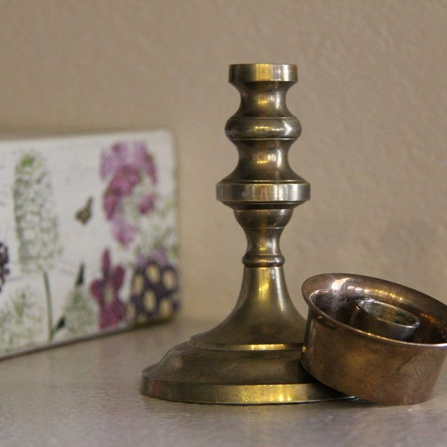How To Clean Brass With Vinegar Salt How To Clean Brass How To Clean Copper Brass Candlesticks