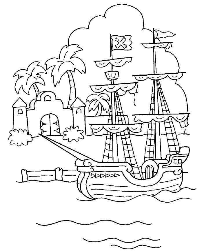 ausmalbilder piraten kostenlos malvorlagen windowcolor zum