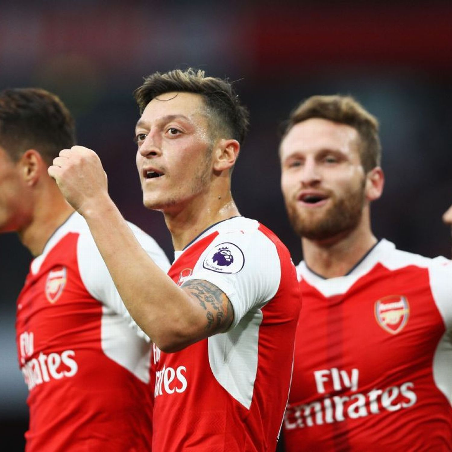 Mesut Ozil's lack of Arsenal assists shows team focus this