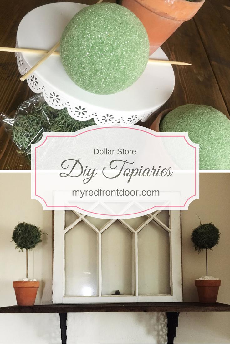 DIY Dollar Tree Topiaries | Easy DIY Projects & DIY ...
