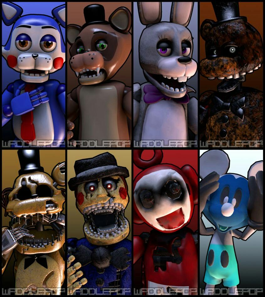 Five nights at candys toys