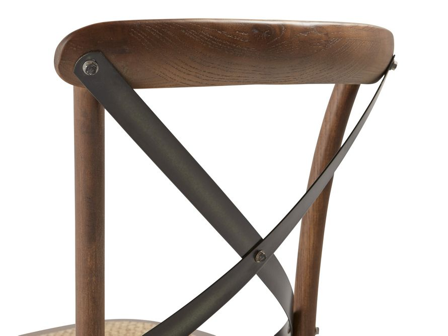 Cadence Dining Chair With Metal Stretchers Arhaus Furniture Dining Room Chairs Dining Room Furnishings Dining Chairs