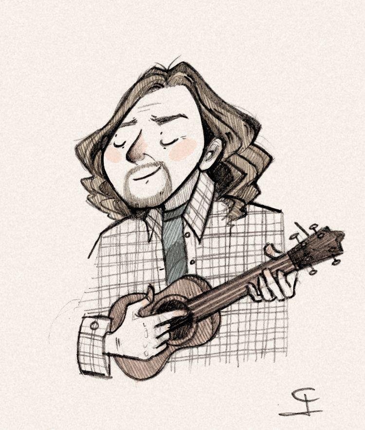 Quick Drawing Eddie Vedder In 2020 Eddie Vedder Drawings Eddie