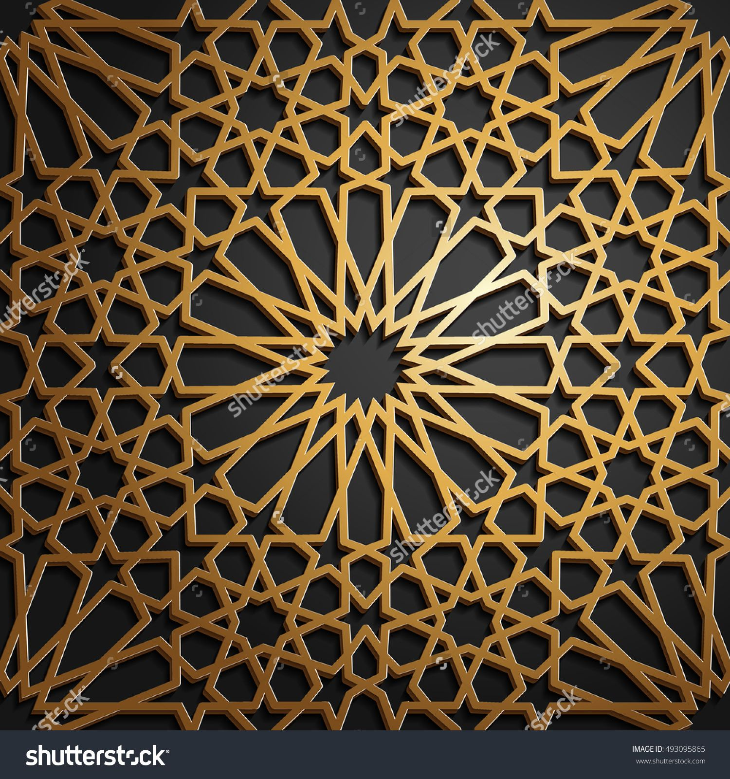 islamic oriental pattern abstract vector ornament vector muslim background east culture indian heritage arabesque persian motif 3d