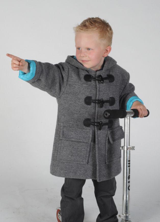 Schnittmuster: Kindermantel mit schicken Details, Kindermode ...
