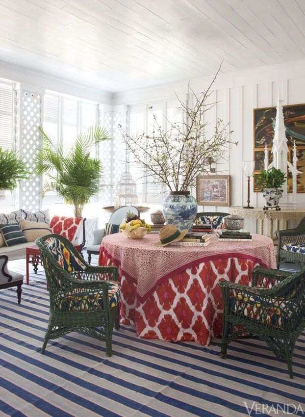 How To Furnish House With Modern Furniture: How To Furnish A Sunroom + What To Avoid