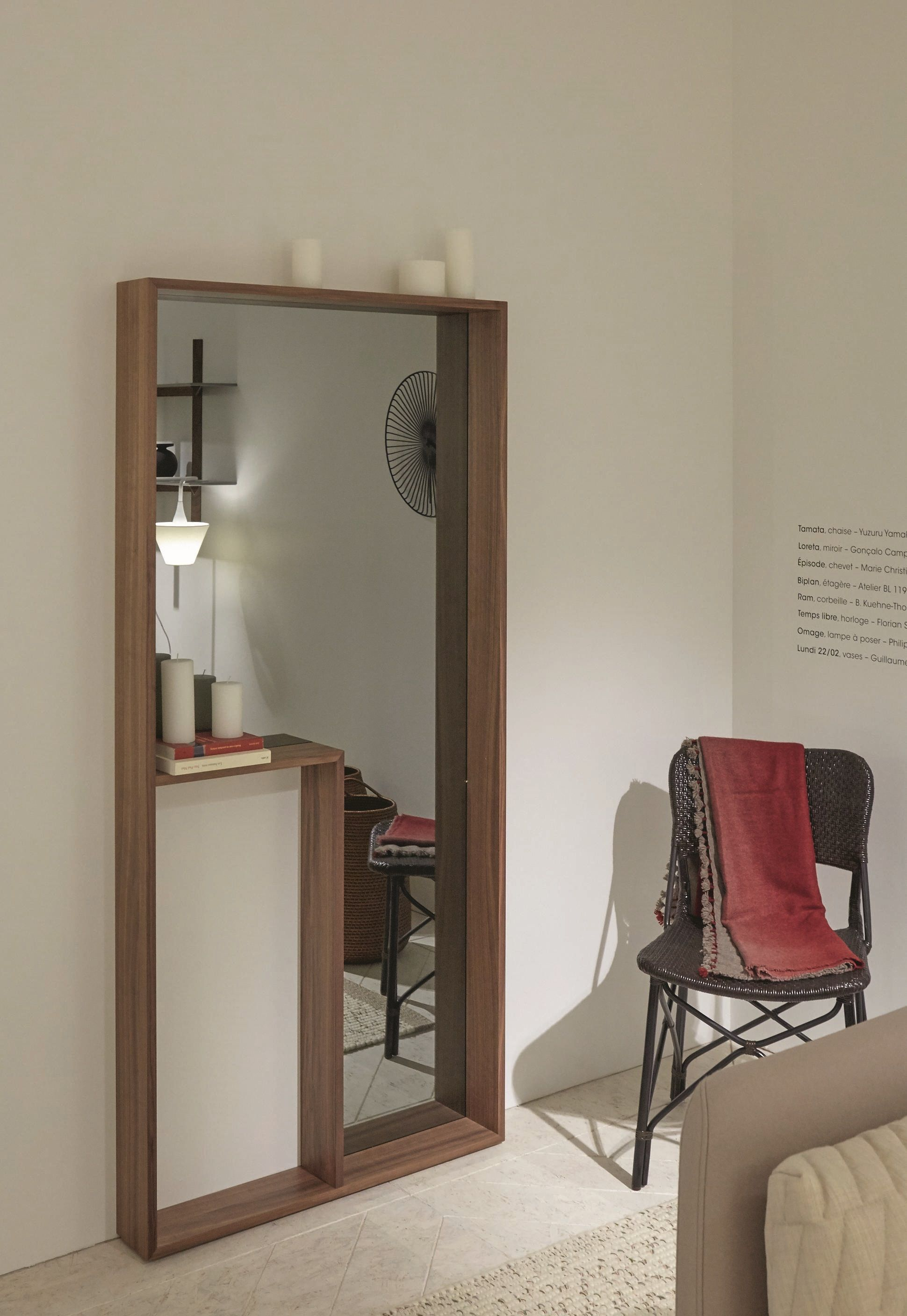 Ligne Roset Riga The Loreta Mirror By Gonçalo Campos Makes A Powerful Statement
