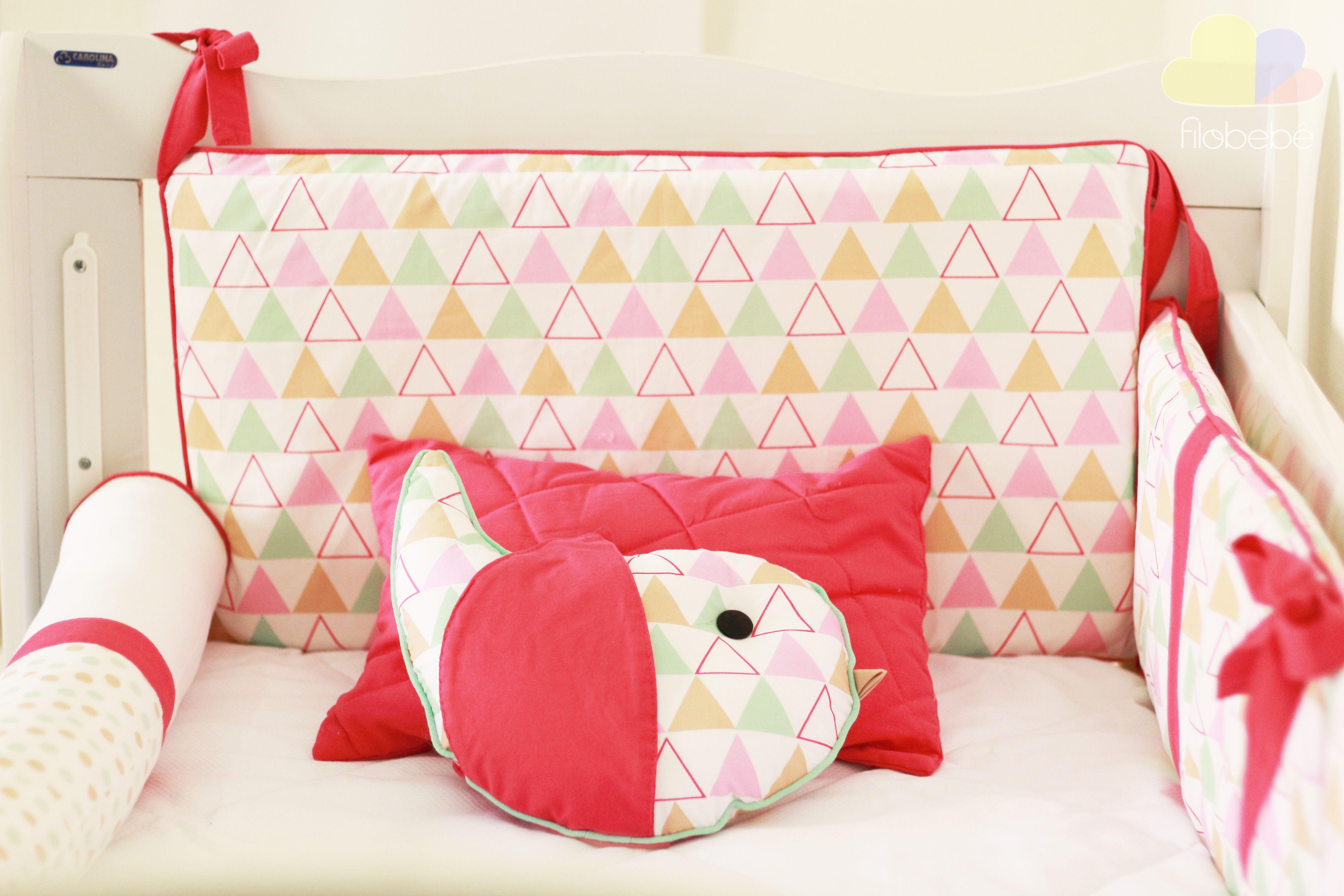 Crib pillows babies -  Enxoval Enxovaldebebe Baby Beb Decora O Quartodebeb Pillow Cribs