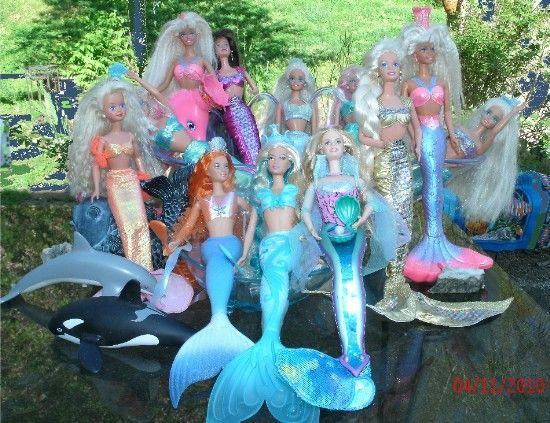 Best 25 mermaid barbie ideas on pinterest barbie - Barbi la sirene ...