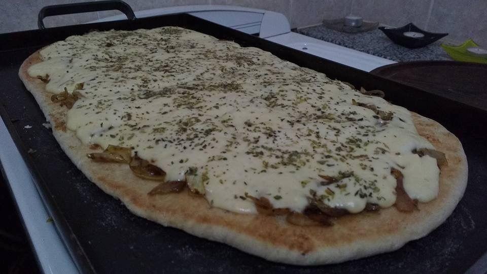 Pizza a la plancha!