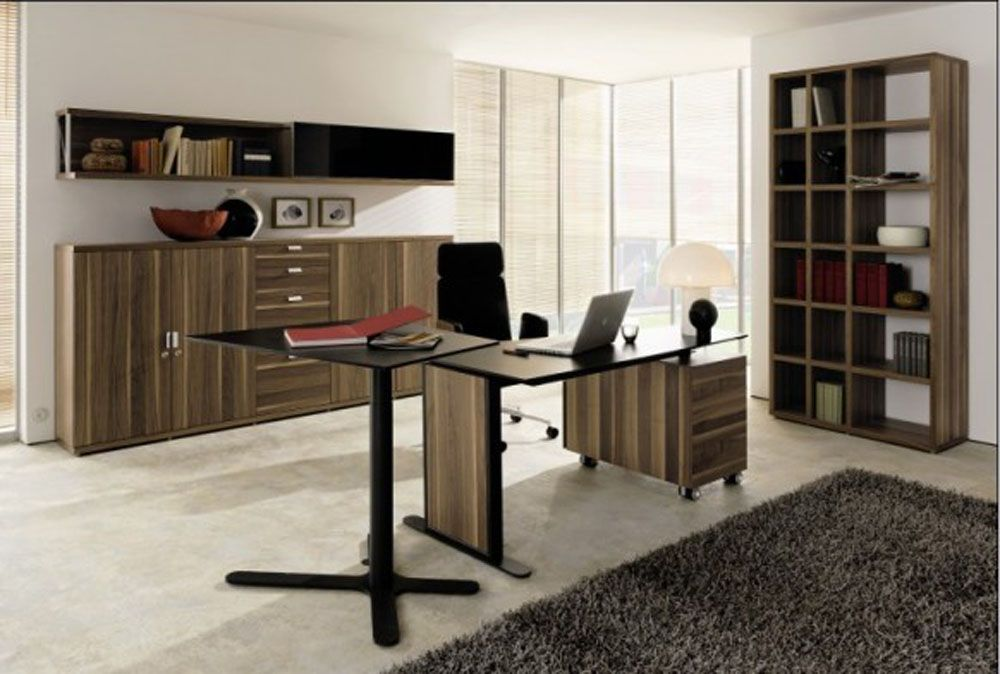 Home Office Ideas Working From Home With Your Style Home Office Furniture Design Luxury Office Furniture Contemporary Home Office Furniture