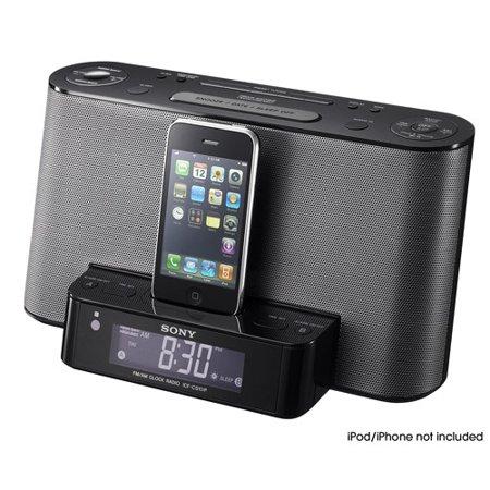 Electronics Sony speakers, Dock clock, Iphone docking