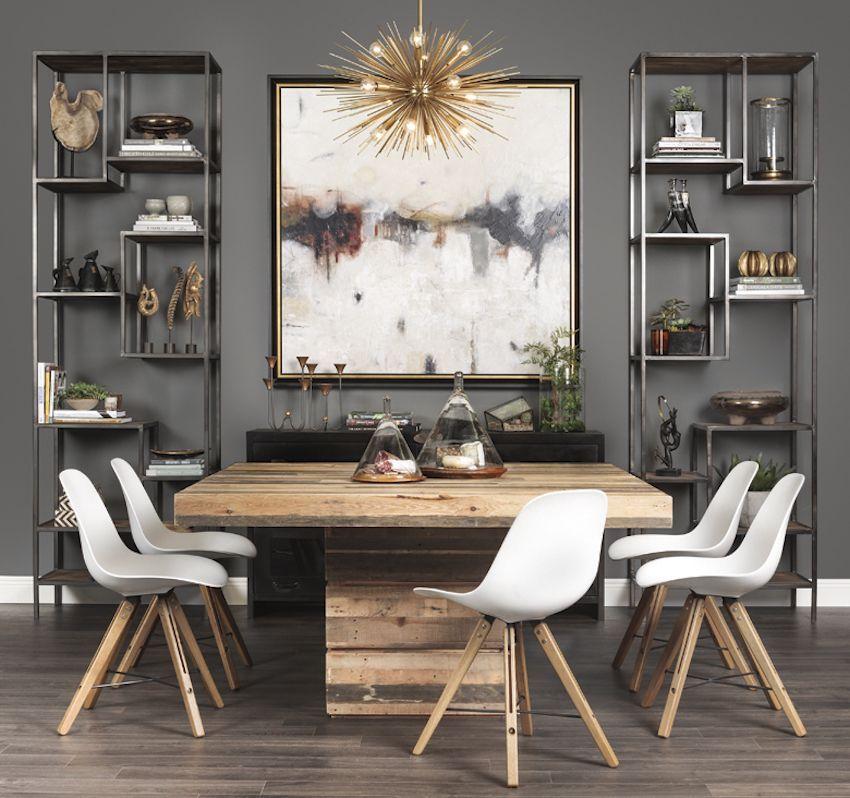 SuperbSquareDiningTableIdeasforaContemporaryDiningRoom - Modern dining table for 2