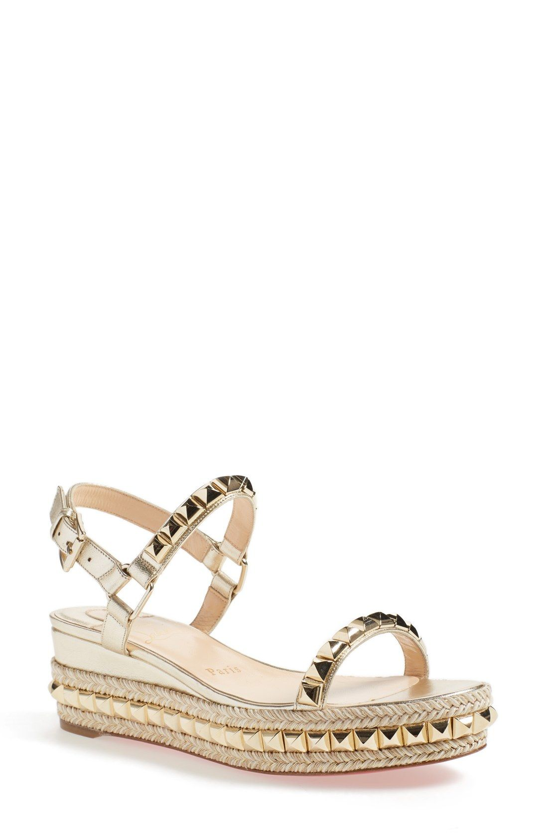 a43932c48a4 Christian Louboutin 'Cataclou' Espadrille Platform Sandal | Couture ...
