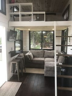 Two Waterfront Tiny Homes on Lake Travis #tinyhomes
