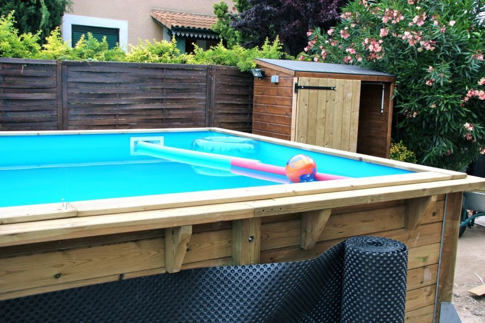 awe inspiring homemade coping on above ground swimming with fiberglass above ground swimming pool kits - Square Above Ground Pool