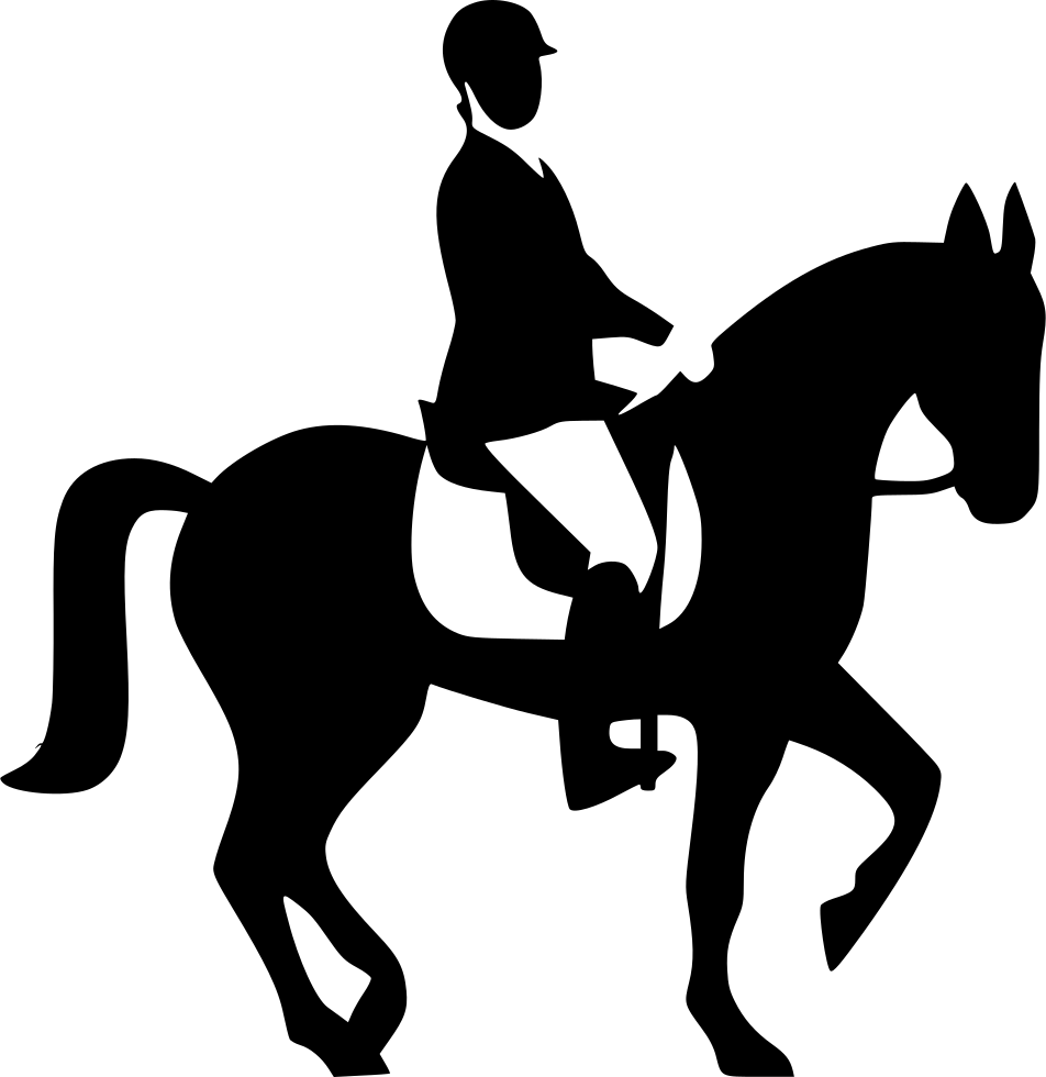 Horserider Horse Race Svg Png Icon Free Download 506638 Onlinewebfonts Com Png Icons Horses Horse Racing