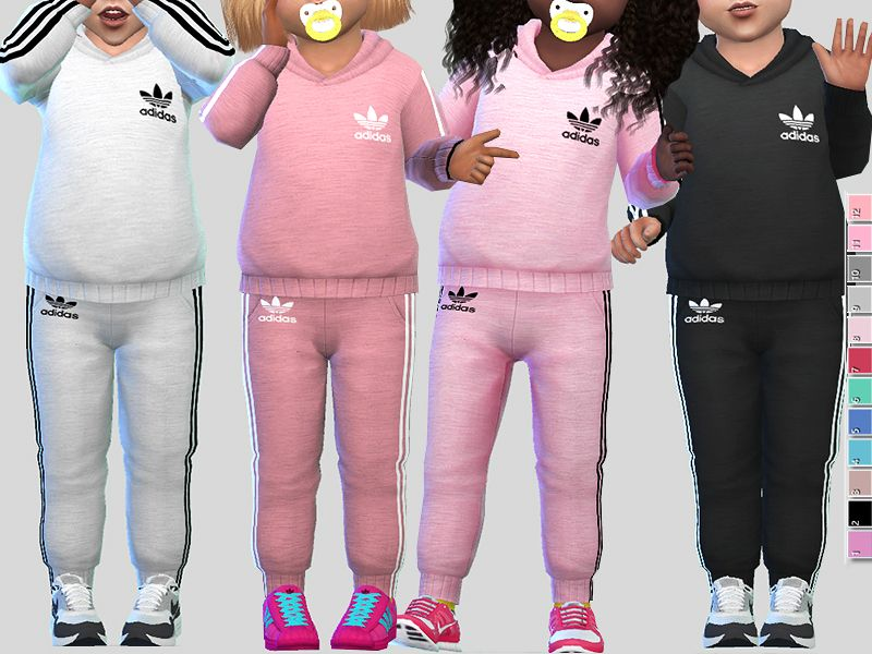 Pinkzombiecupcakes Adidas Athletic Toddler Outfit Parenthood pack required