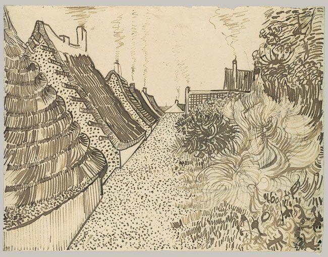 Street In Saintes Maries De La Mer With Images Van Gogh