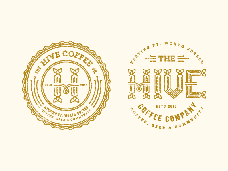 Hive Logo Concept by Claire Morales