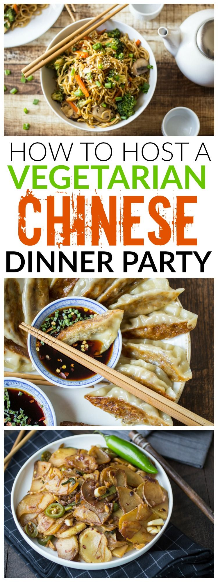 Vegetarian chinese dinner party menu pinterest vegetarian looking for some fun inspiration for your next dinner party youll love these forumfinder Choice Image