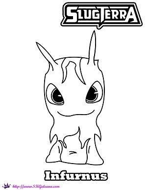 slugterra coloring pages, printable slugterra coloring pages, free ...