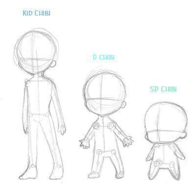 Photo of Anime Chibi Body Outline – Art ~ Cartoon – #Anime #Art #BODY #Cartoon #Chib …