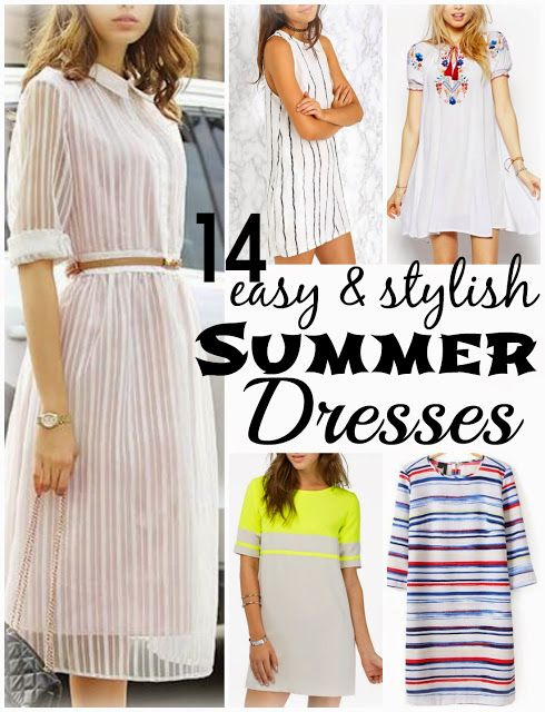14 easy and stylish budget friendly summer dresses    Spring & Summer Dresses, Funky Jungle, #fashion & personal #style blog