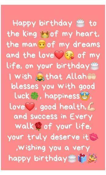 Pin by Sanam Jung on Kutipan persahabatan terbaik in 2021 | Happy birthday husband quotes, Birthday wishes quotes, Birthday wishes for lover