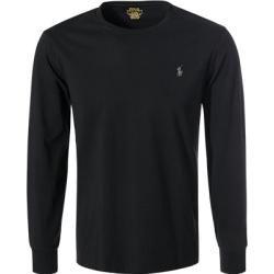Polo Ralph Lauren Langarm-Shirt Herren, Baumwolle, schwarz Ralph Lauren