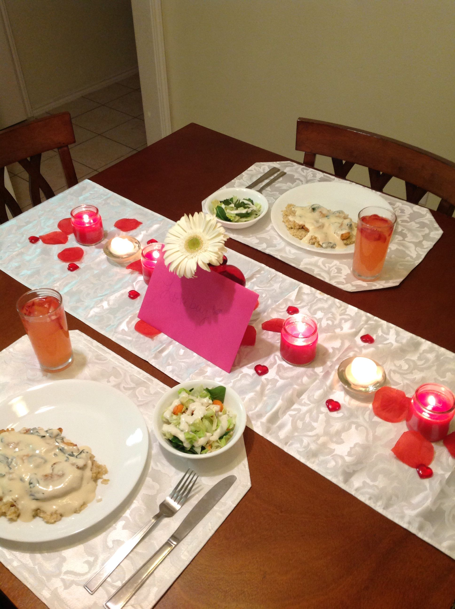 Dinner At Home Ideas Romance And Candlelight Dinners Candle Light Dinner Romantic Dinners Dinner Decoration