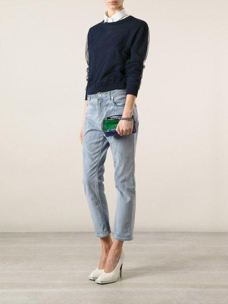 a4c1a3e64a Women's Blue Pandora Wrist Pouch | Bag & Accessories | Givenchy blue ...