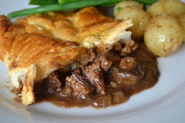 Beef, Guinness and Stilton Pie | Bbc good food recipes ...