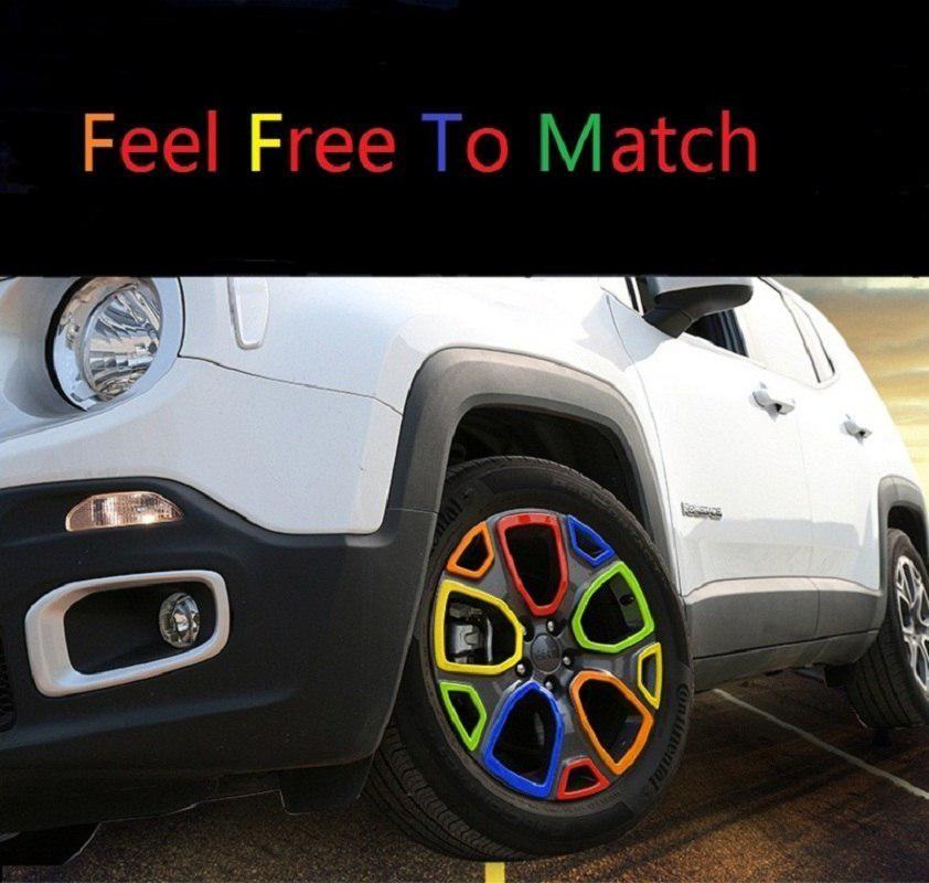 Mopai Abs 1 4 Car Exterior Wheel Hub Tire Decoration Cover Trim