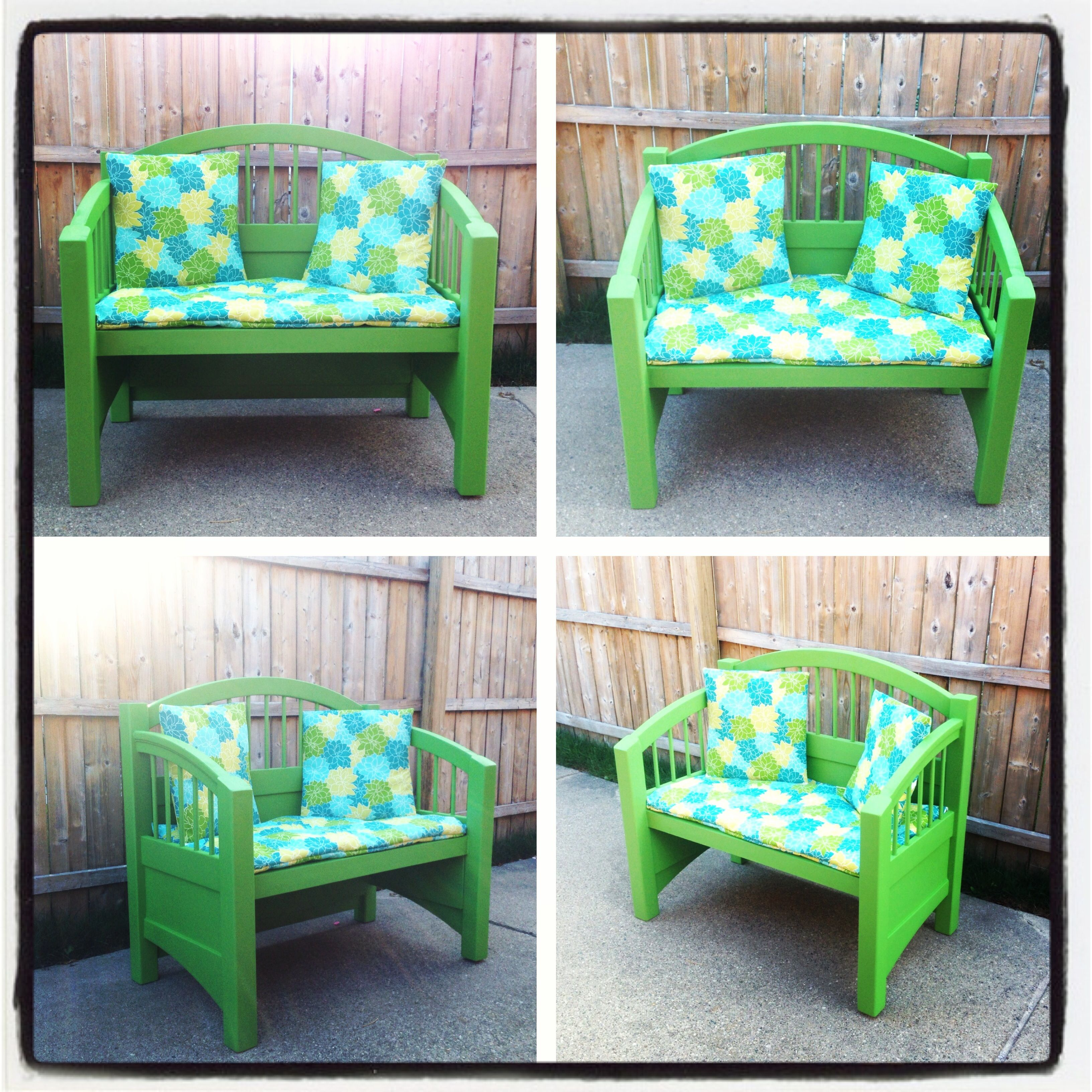 Astonishing Twin Bed Turned Into Bench Toddler Furniture Outdoor Creativecarmelina Interior Chair Design Creativecarmelinacom
