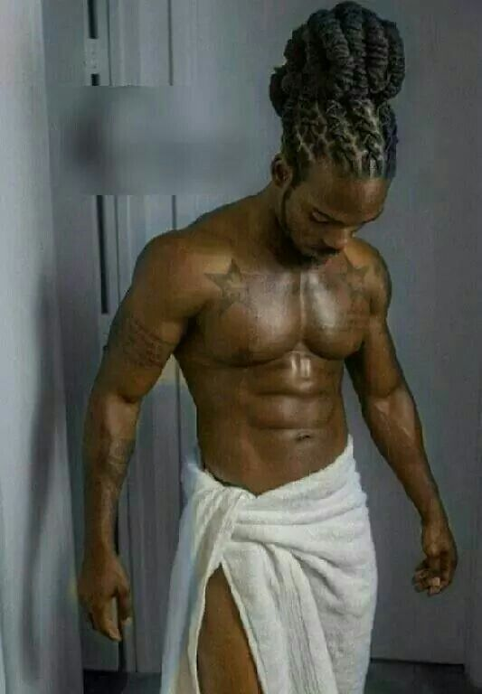men dreads black Sexy with